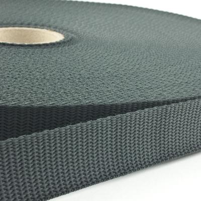 Gurtband 25mm Made in Germany dunkelgrau