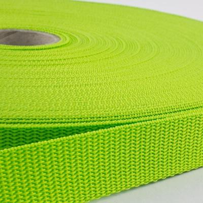 Gurtband 20mm Made in Germany hellgrün