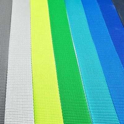 8 x 1m Gurtband-Mix 30mm Made in Germany blau, grün, grau