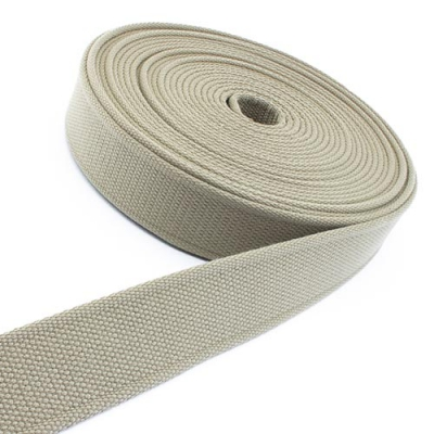 Gürtelband beige 40mm