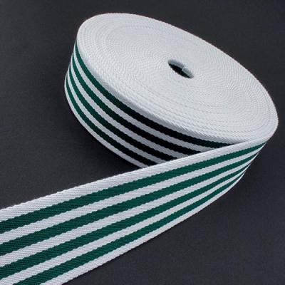 Taschengurt Gürtelband weiß dunkelgrün