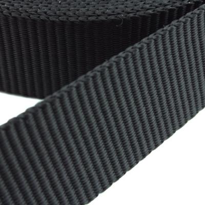 10 Meter Gurtband Einfassband schwarz 25mm PP