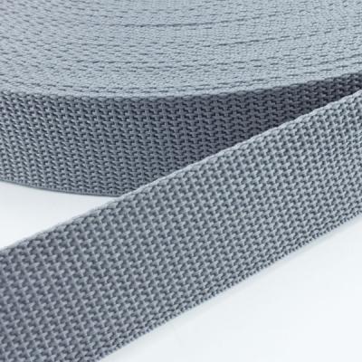 Gurtband grau 25mm
