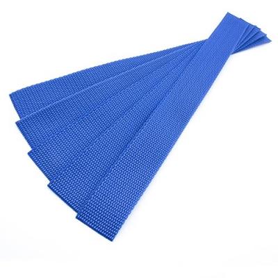 5er Pack Gurtband-Zuschnitt 30cm blau 30mm