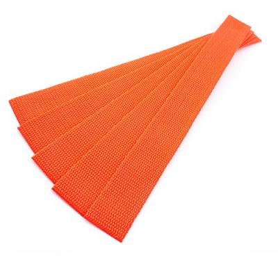 5er Pack Gurtband-Zuschnitt 30cm orange 30mm