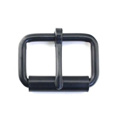 Rollschnalle 30 x 17mm schwarz