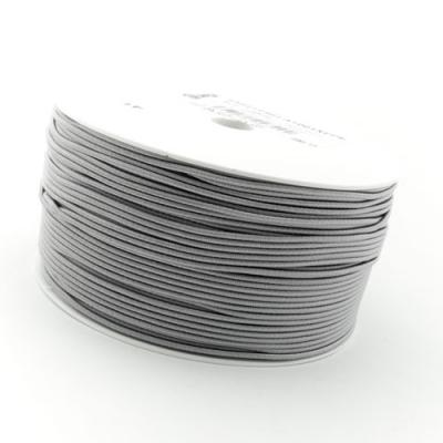 50m Hutgummi grau 1mm