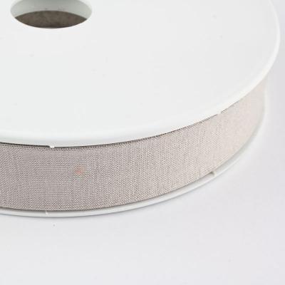 Jersey-Schrägband 20mm leinen