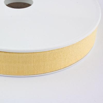 Jersey-Schrägband 20mm blassgelb