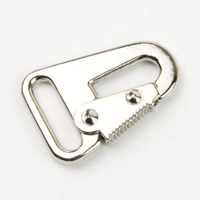 Karabinerhaken 25mm silber für Schlüsselanhänger