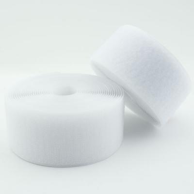 Klettband weiß 25mm Industriequalität Ökotex
