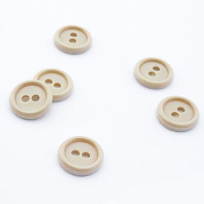 10 Knöpfe beige 11,6mm