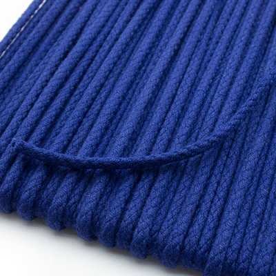 Baumwollkordel blau 3mm