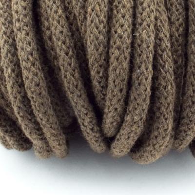 Baumwollkordel braun 5mm mit Kern