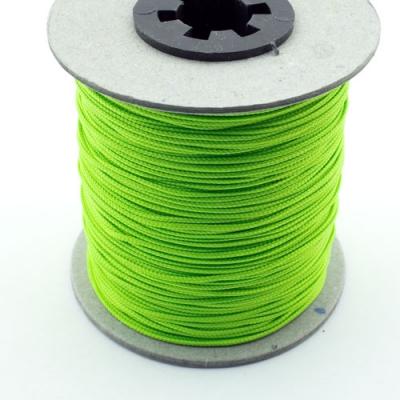 100m Schmuckschnur neon grün 1,5mm