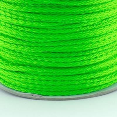 100m Kordel PES neon-grün 4mm