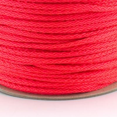 100m Kordel PES neon pink 4mm