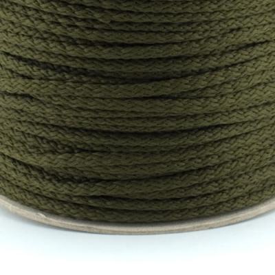 100m Kordel PES oliv 4mm