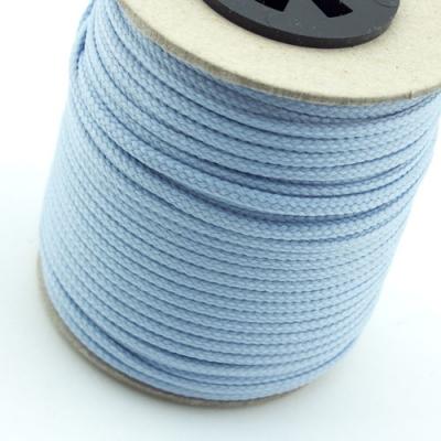 50m Polyesterkordel hellblau 2,5mm