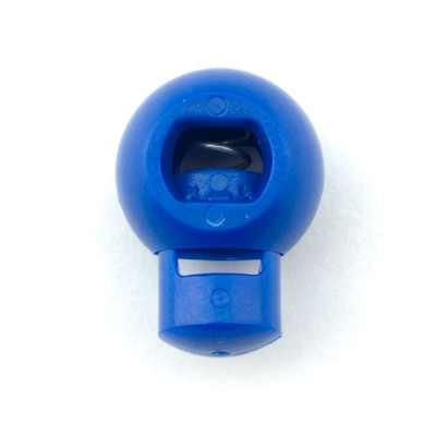 Kordelstopper 18mm blau