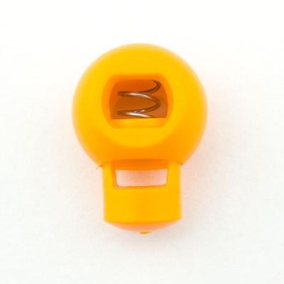 Kordelstopper 18mm gelb