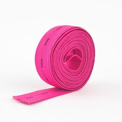 Lochgummi 20mm pink