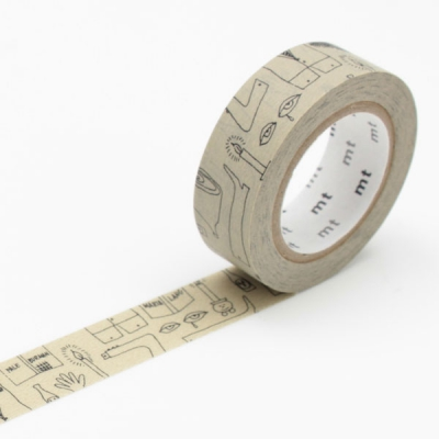10m Washi Tape 15mm Olle Eksel Olles Notebook