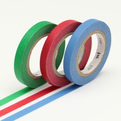 3 x 10m Washi Tape SLIM 6mm