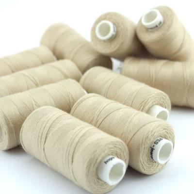 Nähgarn creme Stärke 30 Polyester
