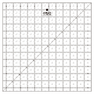 Olfa Quilt-Lineal 12,5 x 12,5 Inch QR-12S