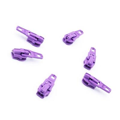 Opti Reißverschluss-Schieber 3mm lavendel Col. 4327