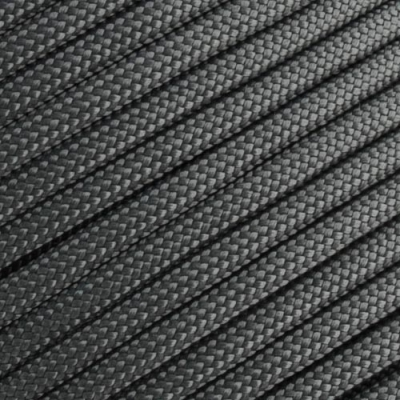 15m Paracord 550 Typ III charcoal grey