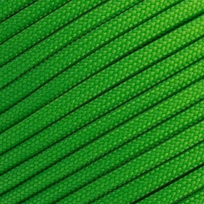 15m Paracord 550 Typ III neon green
