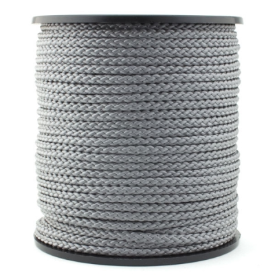 50m Polypropylen-Kordel 4mm grau