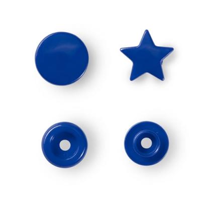 Prym Color Snaps 12,4mm - 30 Stk. Stern, königsblau 393216
