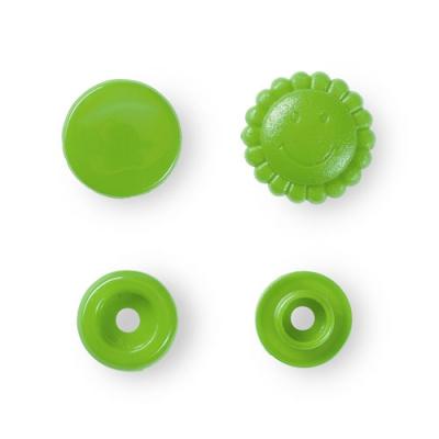 Prym Color Snaps 13,6mm - 21 Stk. Blume, apfel 393444
