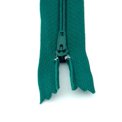 10 Reißverschlüsse tannengrün 20cm