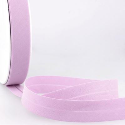 Schrägband flieder aus Baumwolle PES 20mm