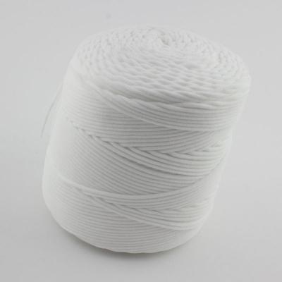 50m Gummikordel 3mm weiß