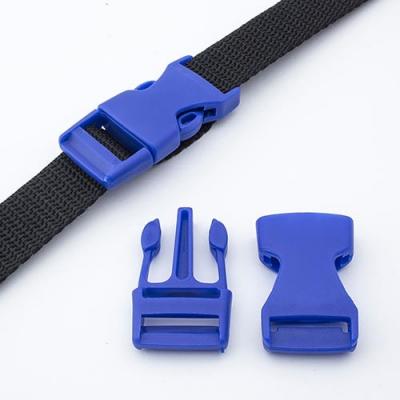 Steckschnalle 20mm blau