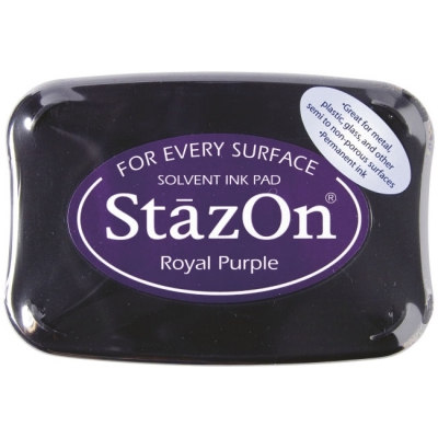 Stempelkissen 10 x 7 cm royal purple