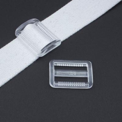 Gurtband-Regulierer 40mm transparent