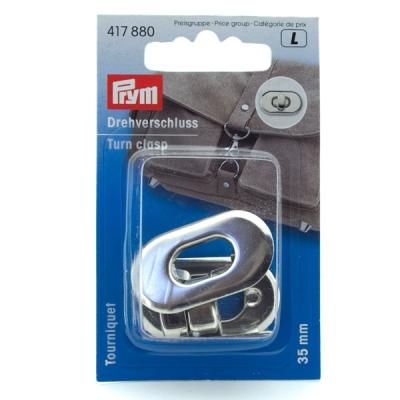 Prym Drehverschluss 35mm silber 417880