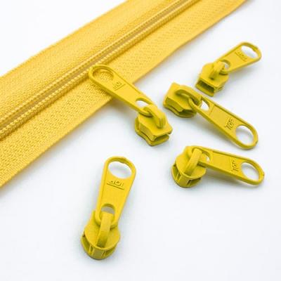 10 Schieber gelb 5mm