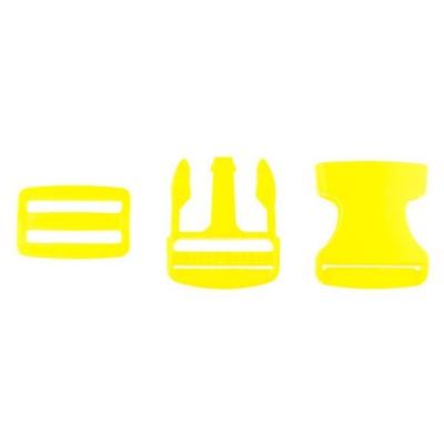 Taschenverschluss mit Regulierer 40mm gelb