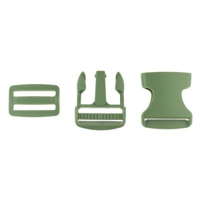 Taschenverschluss mit Regulierer 40mm oliv