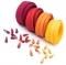 12m Opti-Lon S40 Reißverschluss Set Rottöne