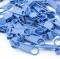 10 Schieber taubenblau 3mm