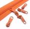 10 Schieber orange 5mm